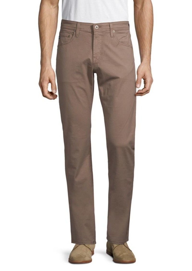 AG Adriano Goldschmied Classic Straight-Leg Jeans