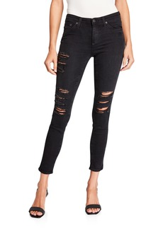 AG Adriano Goldschmied Cropped Denim Leggings