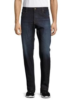 AG Adriano Goldschmied Dark-Wash Denim Pants
