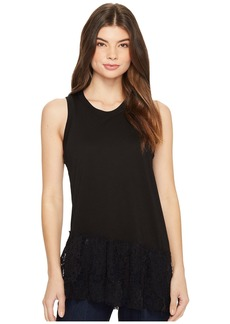 AG Adriano Goldschmied Demi Lace Tank Top