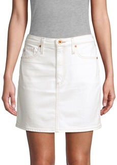 AG Adriano Goldschmied Denim Mini Skirt