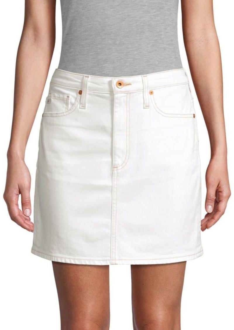 AG Adriano Goldschmied Denim Mini Skirt