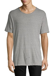 AG Adriano Goldschmied Distressed Cotton Tee