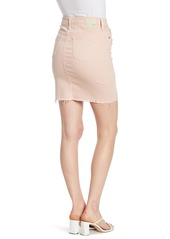 AG Adriano Goldschmied Erin Distressed Jean Pencil Skirt