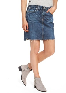 AG Adriano Goldschmied Erin Step Hem Denim Skirt