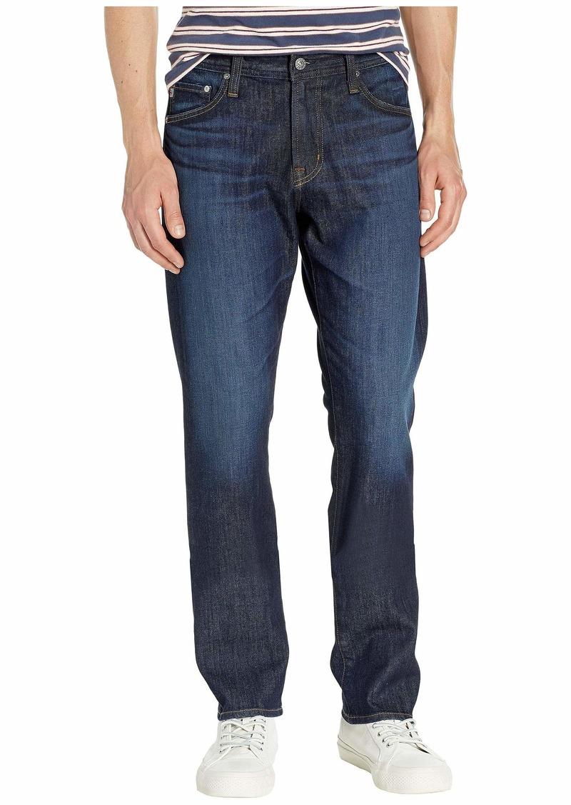 AG Adriano Goldschmied Everett Slim Straight Leg Denim Jeans in Free Fall