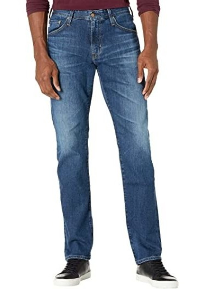 AG Adriano Goldschmied Everett Slim Straight Leg Jeans in 9 Years Focal