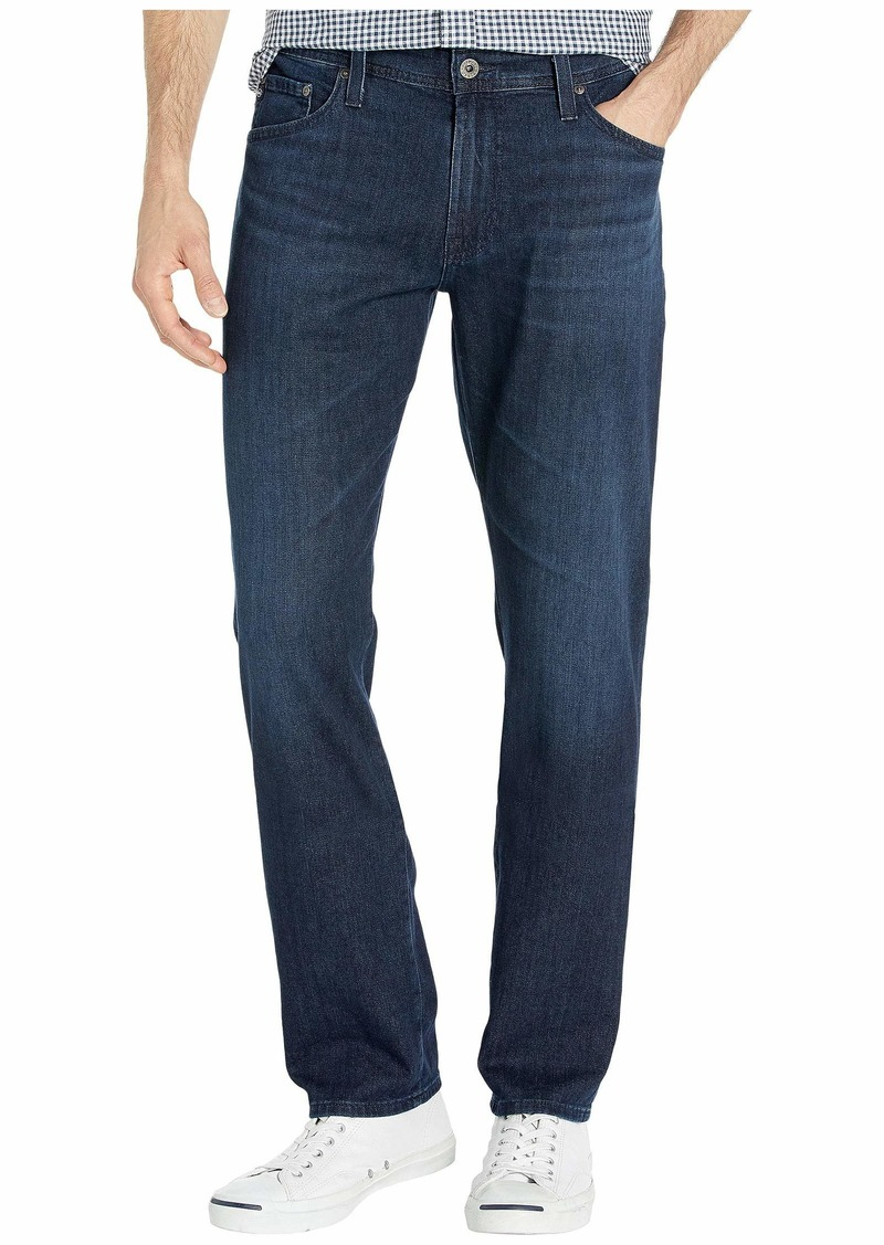 AG Adriano Goldschmied Everett Slim Straight Leg Jeans in Livid Sea