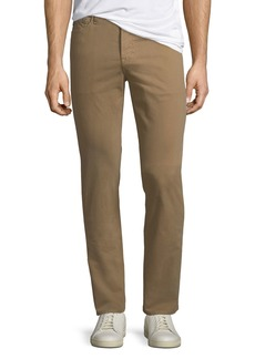 AG Adriano Goldschmied Everett Slim-Straight Twill Pants
