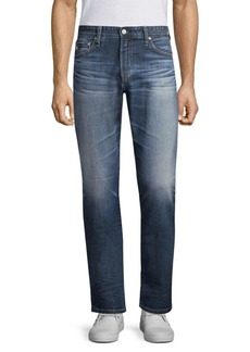 AG Adriano Goldschmied Everett Slim Straight-Fit Jeans