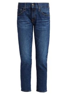 AG Adriano Goldschmied Ex-Boyfriend Mid-Rise Slim-Fit Jeans