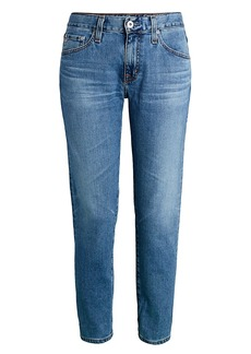 AG Adriano Goldschmied Ex-Boyfriend Mid-Rise Slim-Fit Jeans