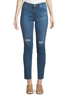 AG Adriano Goldschmied Faded Cigarette-Leg Jeans