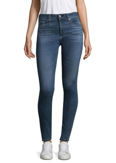 AG Adriano Goldschmied Farah Hi-Rise Skinny Ankle Jeans