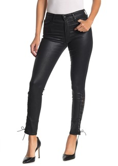 AG Adriano Goldschmied Farrah Ankle Lace-Up Skinny Jeans