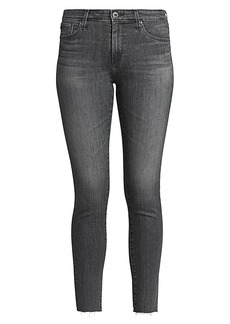 AG Adriano Goldschmied Farrah High-Rise Ankle Skinny Jeans