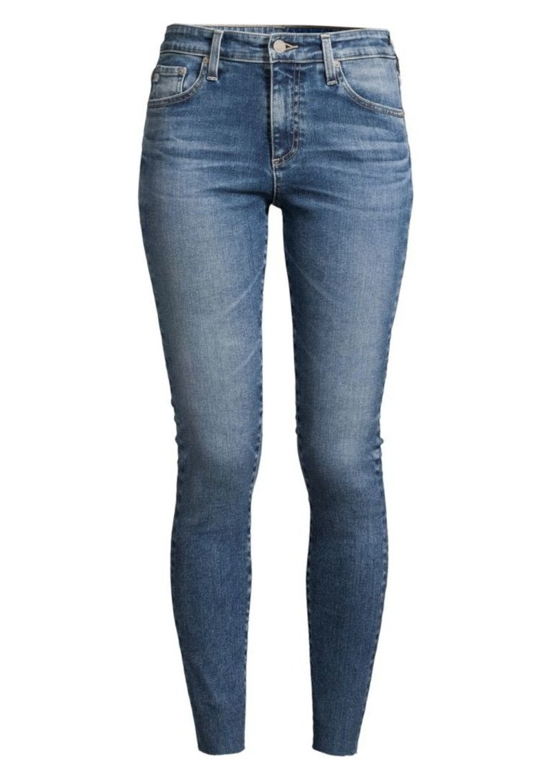 AG Adriano Goldschmied Farrah High-Rise Skinny Ankle Jeans