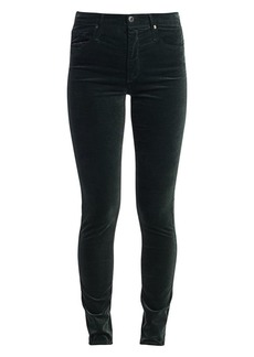AG Adriano Goldschmied Farrah High Rise Skinny Velvet Pants