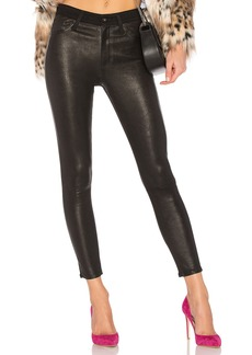 AG Adriano Goldschmied Farrah Leather Skinny Ankle