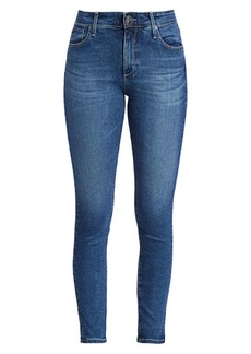 AG Adriano Goldschmied Farrah Skinny Vented Ankle Jeans