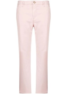 AG Adriano Goldschmied fitted cropped trousers