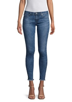 AG Adriano Goldschmied Fourteen Cropped Skinny Jeans