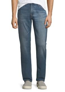 AG Adriano Goldschmied Graduate Straight-Leg Denim Jeans