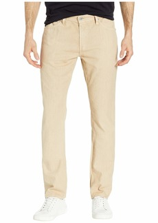 AG Adriano Goldschmied Graduate Tailored Leg Linen Pants in Sulfur Fresh Sand