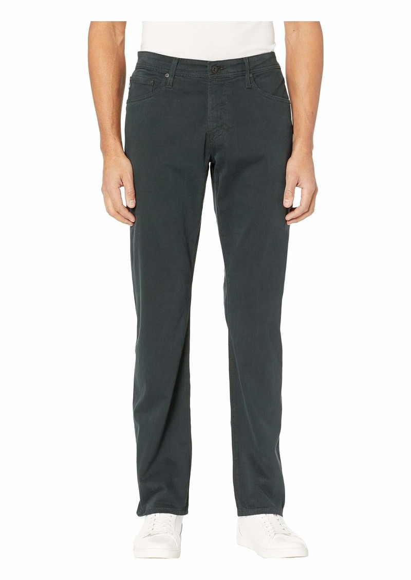 AG Adriano Goldschmied Graduate Tailored Leg Sud Pants in Dark Ivy