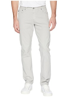 AG Adriano Goldschmied Graduate Tailored Leg Sueded Pants in Sulfur Pebble Beach