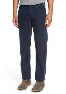 AG Adriano Goldschmied Graduate Tailored Straight Corduroy Pants
