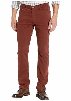 AG Adriano Goldschmied Graduate Tailored Straight Sueded Stretch Sateen