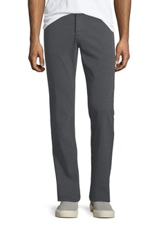 AG Adriano Goldschmied Graduated Melange Wool Trousers