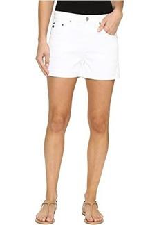 AG Adriano Goldschmied Hailey Boyfriend Shorts in White