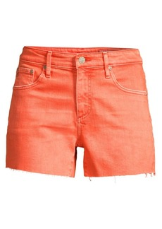 AG Adriano Goldschmied Hailey Cut-Off Colored Denim Shorts