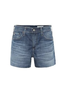 AG Adriano Goldschmied Hailey high-rise denim shorts