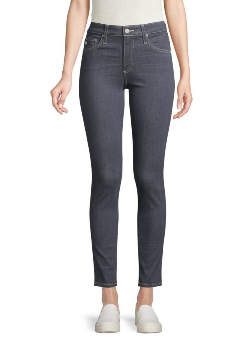 AG Adriano Goldschmied High-Rise Skinny Ankle Jeans