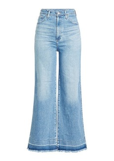 AG Adriano Goldschmied High-Waisted Flared Jeans