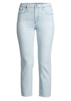 AG Adriano Goldschmied Isabelle Cropped Skinny Jeans