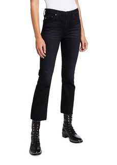 AG Adriano Goldschmied Jodi Crop Flare-Leg Jeans