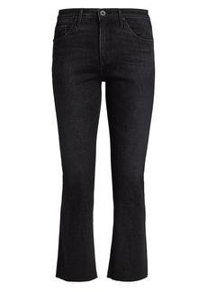 AG Adriano Goldschmied Jodi High-Rise Crop Slim Flare Jeans