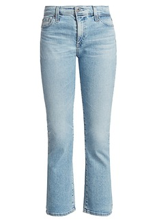 AG Adriano Goldschmied Jodi High-Rise Cropped Flare Jean