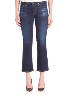 AG Adriano Goldschmied Jodi High Rise Flared Crop Jeans