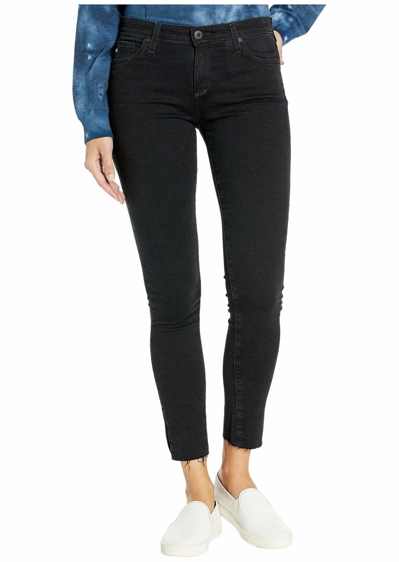 AG Adriano Goldschmied Leggings Ankle in Altered Black