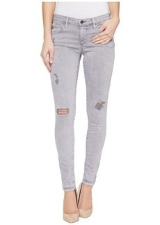 AG Adriano Goldschmied Leggings Ankle in Interstellar Worn Silver Ash
