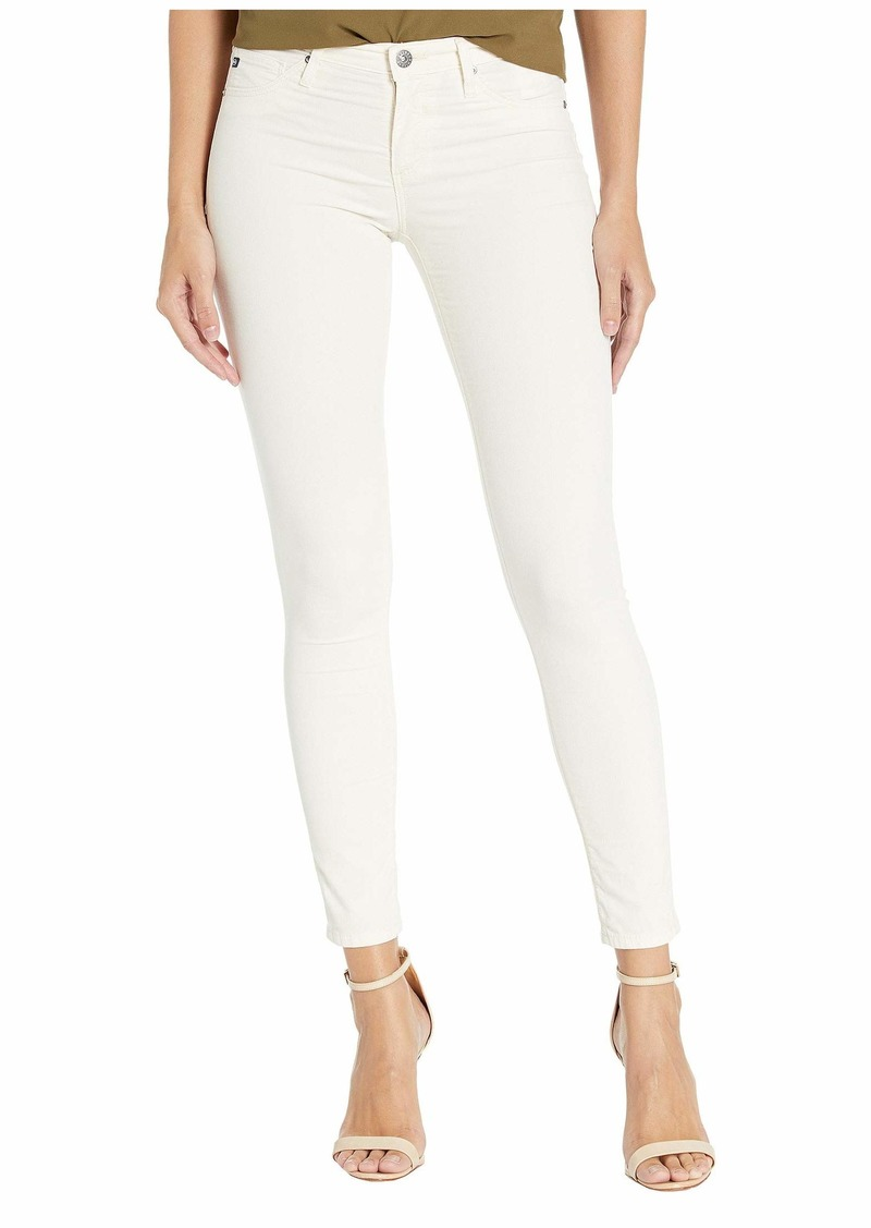 AG Adriano Goldschmied Leggings Ankle in Ivory Dust