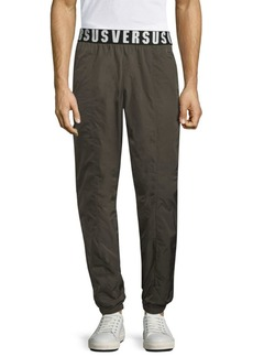 Versace Logo Stretch Pants