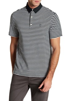 AG Adriano Goldschmied LPC Short Sleeve Stripe Polo