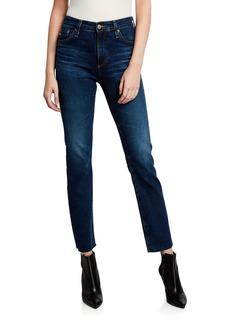 AG Adriano Goldschmied Mari High-Rise Slim-Leg Jeans