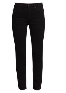 AG Adriano Goldschmied Mari High-Rise Slim Straight Jeans